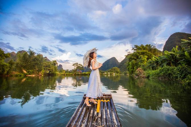自驾诗一般的阳朔,感受山水间最美的模样