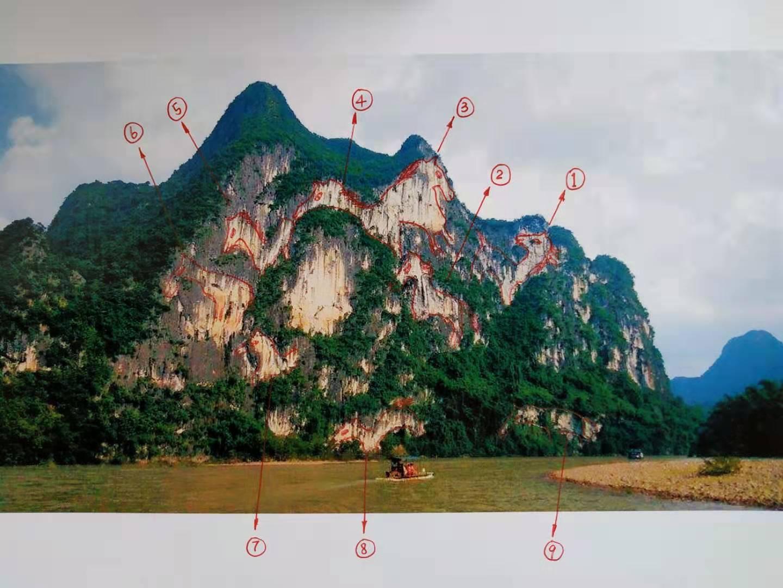 桂林游玩必打卡之地——漓江九马画山