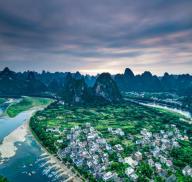 兴坪古镇-漓江沿岸最美丽的古镇,是漓江风景的精华所在